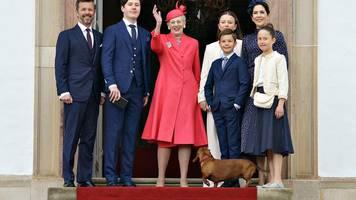 dänische royals: prinz christian vermisst verwandte bei konfirmation