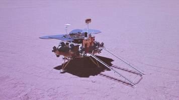 Raumfahrt: China landet mit Rover Zhurong erstmals auf dem Mars