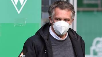 Folgen der Corona-Pandemie - Baumann: Werder-Finanzsituation nicht existenzbedrohend