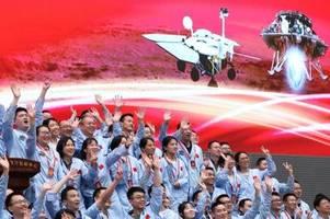 china feiert landung auf dem mars
