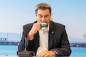 """CDU und CSU im News-Ticker - """"Nicht nur den Armin zeigen"""": Söder bereitet Wahlplakate mit eigenem Konterfei vor"""