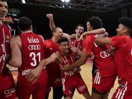 basketballer siegen im pokal: bayern triumphieren im finale dahoam