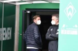 Fußball: Baumann: Mannschaft hatte Glauben an Kohfeldt verloren