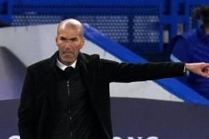 Trainer-Amtszeit: Berichte: Zidane teilt Spielern Abschied von Real Madrid mit