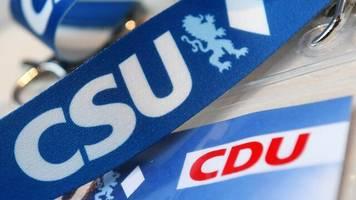 Umfrage: CSU in Bayern stabil bei 40 Prozent