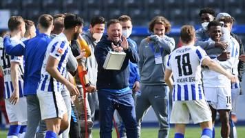 Bundesliga: Dardai kritisiert Herthas Big-City-Motto - Zukunft offen