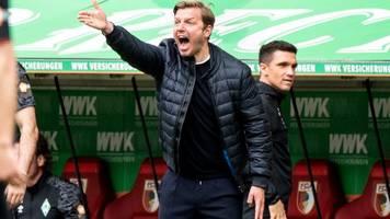 Nach Pleite in Augsburg: Baumann gibt keine Job-Garantie für Werder-Coach Kohfeldt