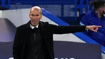 Trainer-Amtszeit - Berichte: Zidane teilt Spielern Abschied von Real Madrid mit