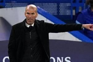 Berichte: Zidane teilt Spielern Abschied von Real Madrid mit