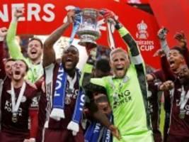 Pokalsieg von Leicester City: Heuler vor Zuschauern