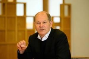 Bundestag: SPD veröffentlicht Briefwahlergebnis für Kandidat Scholz