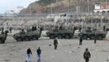 melilla: fast die hälfte der migranten aus ceuta wieder abgeschoben
