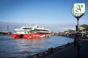 Corona-Lockerungen: Hamburg-Helgoland: Halunder Jet fährt wieder auf die Insel