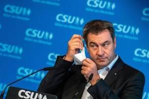 CSU verliert in Bayern weiter an Boden gegen Grüne