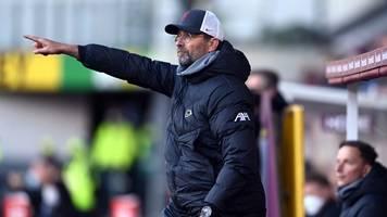 premier league - liverpool zurück auf champions-league-platz: sieg in burnley