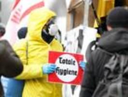 zwei eilanträge gegen verbot von corona-demos zu pfingsten