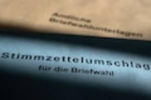 landtagswahlen 2021 - sachsen-anhalt: briefwahl zur landtagswahl - jetzt briefwahl beantragen, was noch wichtig ist