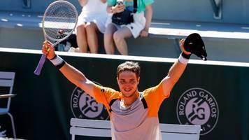 french open: tennisprofi struff schafft Überraschung in paris