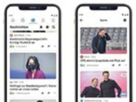 wann kommt facebook news auf mein smartphone?