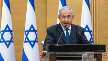 israel: netanjahu-gegner verhandeln über regierungsbildung