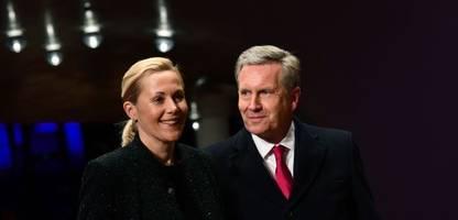 Christian und Bettina Wulff sind wieder ein Paar