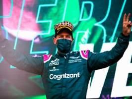 F1-Star findet seine Form wieder: Vettel fährt in Baku auch dem Zweifel davon