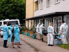 Quarantäne-Hochhaus in Dresden: Sieben weitere Bewohner positiv getestet
