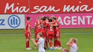 Frauen-Bundesliga: Bayern-Fußballerinnen entthronen Wolfsburg