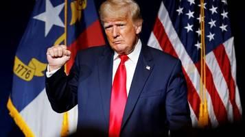 Donald Trump: Freue mich sehr auf 2024