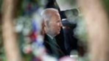 Joe Biden: Und die Ukraine muss sehen, wo sie bleibt