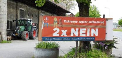 Landwirtschaft: Schweiz stimmt über ein Verbot von Pestiziden ab