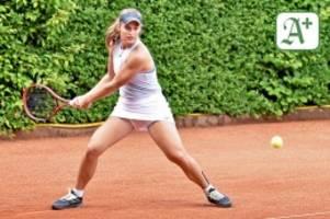 tennis: mit jetlag in den beinen bis in viertelfinale gekämpft