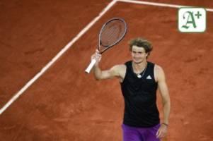 tennis: tennis: alexander zverev ist gefestigt für den titel-traum