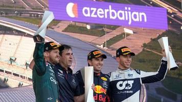 Formel 1: stimmen zum Großen Preis von Aserbaidschan