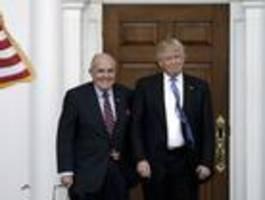 Trump-Vertrauter Giuliani setzte Ukraine wegen Biden unter Druck