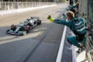 Rennen in Baku - Podium täuscht über Vettels verpasste Siegchance hinweg