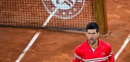 French Open: Novak Djokovic trifft im Traumhalbfinale auf Rafael Nadal