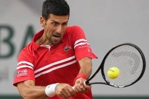 Wegen Ausgangssperre: Djokovic-Viertelfinale unterbrochen