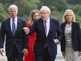 G-7-Gipfel in Cornwall: Der Gastgeber gibt sich unbeirrbar