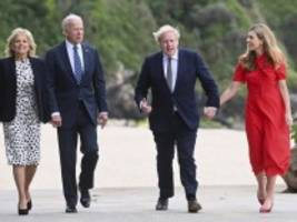 G-7-Gipfel in Cornwall: Johnson trifft erstmals auf Staatschef Biden