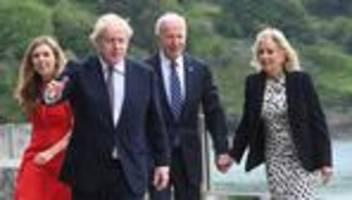 G7-Gipfel: Boris Johnson empfängt Joe Biden