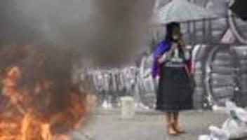 Kolumbien: Jetzt muss der Absturz verhindert werden
