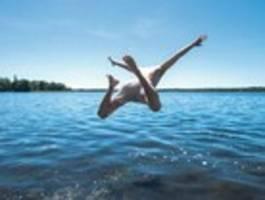 das badeverbot für den berliner see könnte bald aufgehoben werden