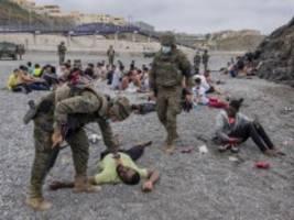 migrationskrise in ceuta: kinder als politisches druckmittel benutzt