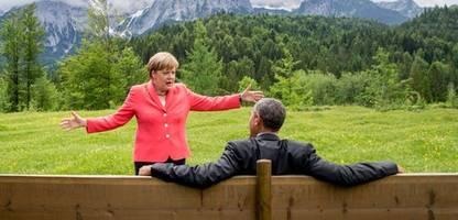 G7-Runde in Cornwall: Angela Merkels letzter Gipfel