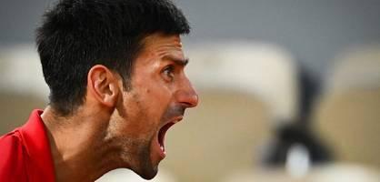 """Der bizarre Auftritt des Novak Djokovic - """"Wie ein Werwolf"""""""