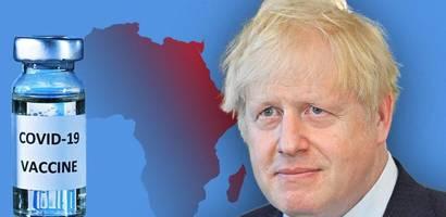 Impfstoff gegen Klimaversprechen – Boris Johnson will Deal mit Afrika