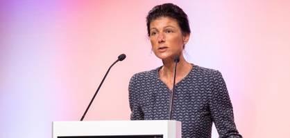 Parteikollegen beantragen Sahra Wagenknechts Ausschluss