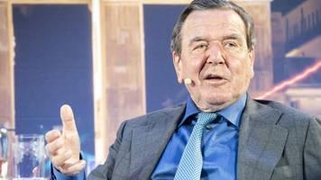 Russland-USA-Konflikt: Gerhard Schröder kritisiert Präsident Biden scharf