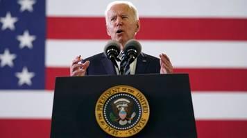 Vor G7 Gipfel: Biden ruft zur Verteidigung der Demokratie auf